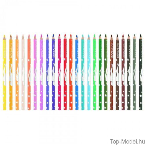 Kép 3/3 - TopModel színesceruza készlet 24 darabos