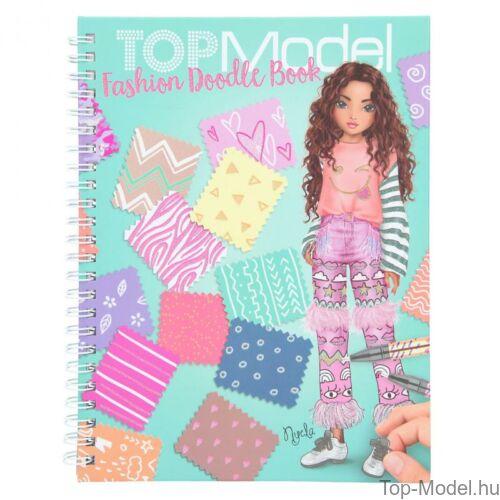 Kép 2/8 - TOPModel Fashion Doddle Könyv Zseléstollal