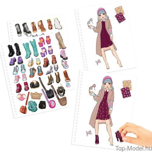 Kép 4/8 - TOPModel Fashion Doddle Könyv Zseléstollal