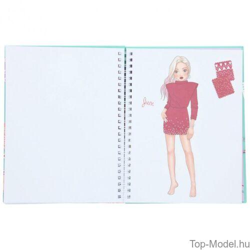 Kép 7/8 - TOPModel Fashion Doddle Könyv Zseléstollal