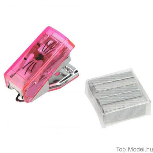 Kép 9/9 - TOPModel mini írószer doboz CAT, világos rózsaszín