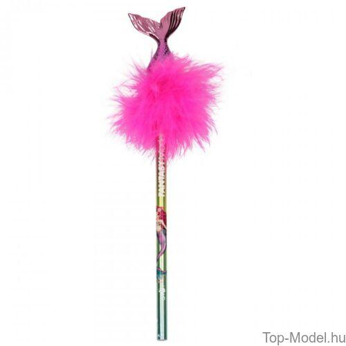Kép 3/5 - Fantasy Model sellőfarkas grafitceruza, rózsaszín
