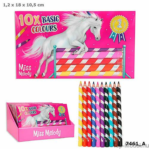 Kép 1/5 - Miss Melody színesceruza készlet 10 db