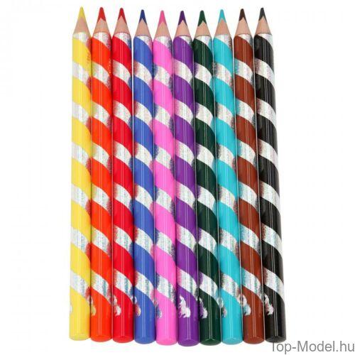 Kép 2/5 - Miss Melody színesceruza készlet 10 db