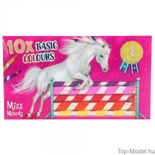 Kép 3/5 - Miss Melody színesceruza készlet 10 db