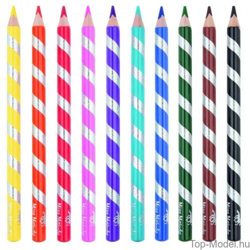 Kép 5/5 - Miss Melody színesceruza készlet 10 db