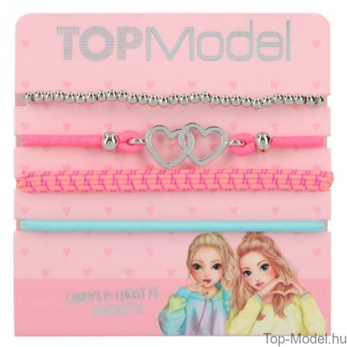 TopModel hajgumi- és karkötőkészlet