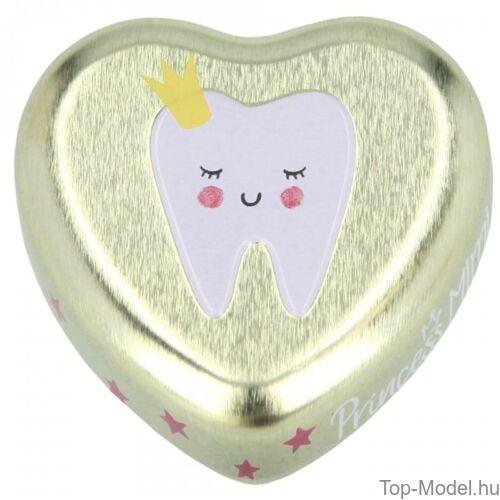 Kép 3/10 - Princess mimi fogtartó dobozka, rózsaszín-lány