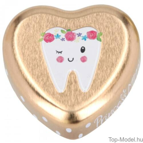 Kép 5/10 - Princess mimi fogtartó dobozka, rózsaszín-lány