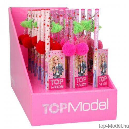 Kép 2/5 - TOPModel ceruza Cherry Bomb, piros