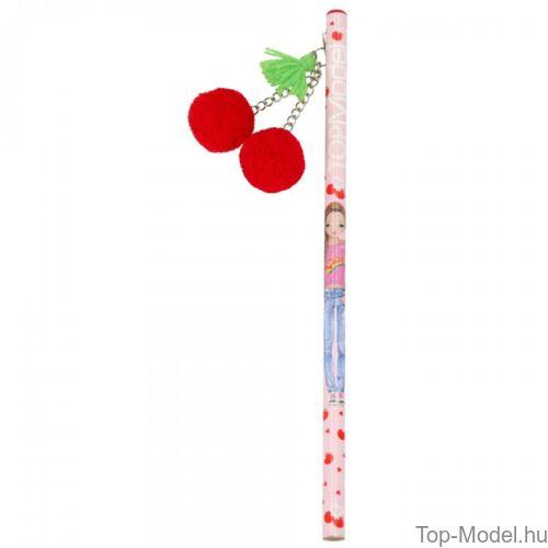 Kép 4/5 - TOPModel ceruza Cherry Bomb, piros