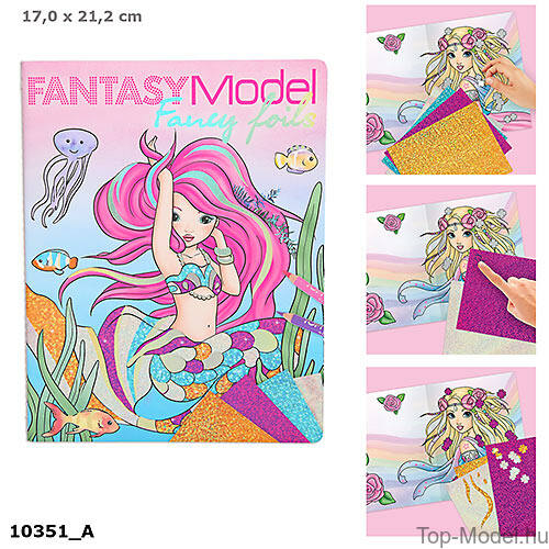 Kép 1/4 - Fantasy Model Fancy Folis divstos színező foliák