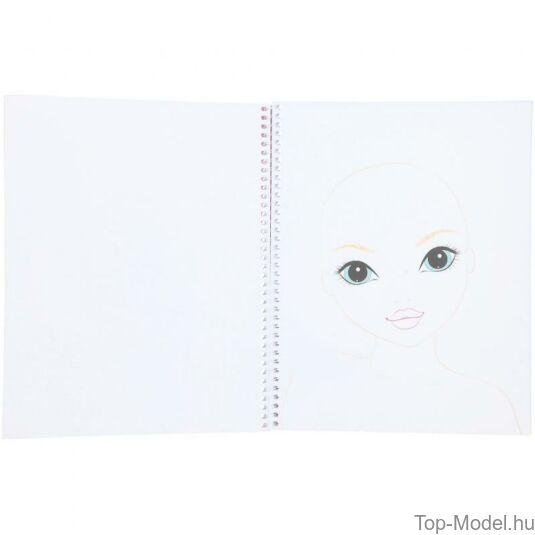 TOPModel smink és hajtervező könyv