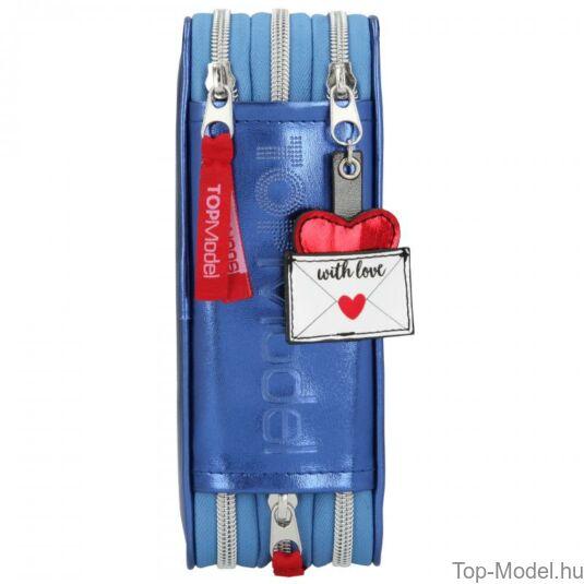 TOPModel 3 emeletes töltött tolltartó love letters