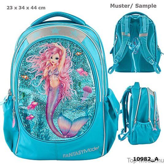 Fantasy Model ergonómikus iskolatáska Mermaid