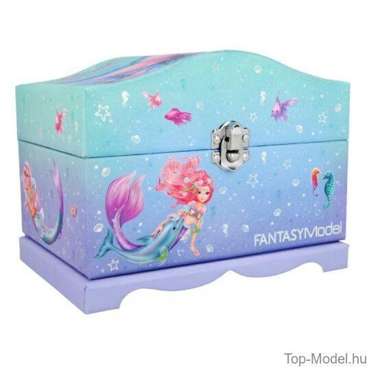 Fantasy Model világító ékszerdoboz Mermaid