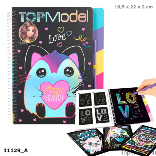 TOPModel mágikus kaparós tervező