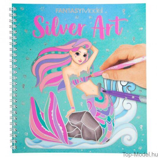 Fantasy Model kifestőkönyv ezüst