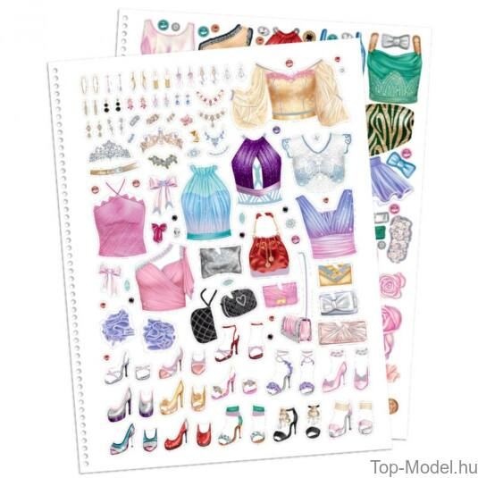 TOPModel Glamour speciális ruhatervező