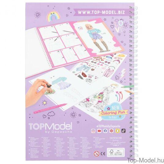 TOPModel Ruhatervező Tollkészlettel