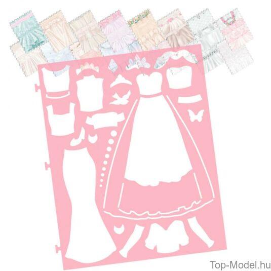 TOPModel Esküvői Ruhatervező Könyv