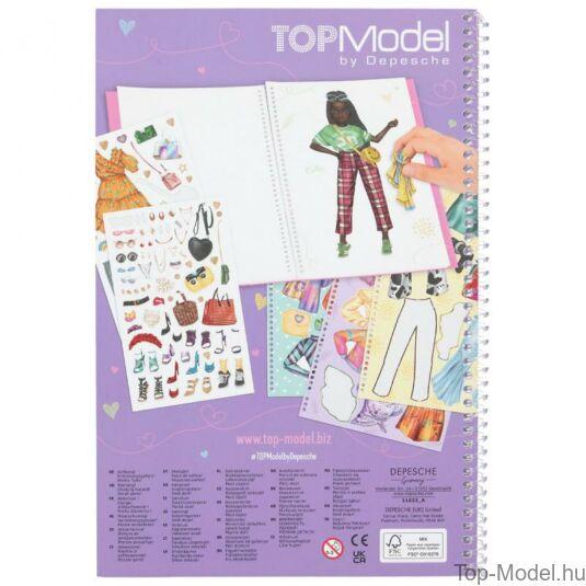 TOPModel Dress Me up Nagy Maticás Tervező