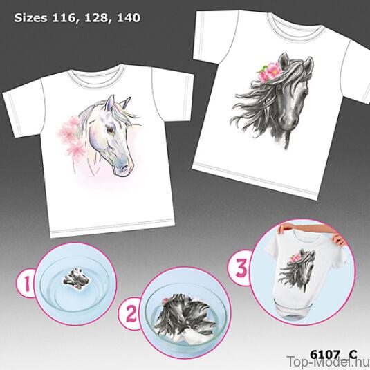 Horses Dreams Magic Póló, fehér 116 méret