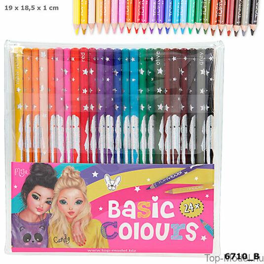 TopModel színesceruza készlet 24 darabos