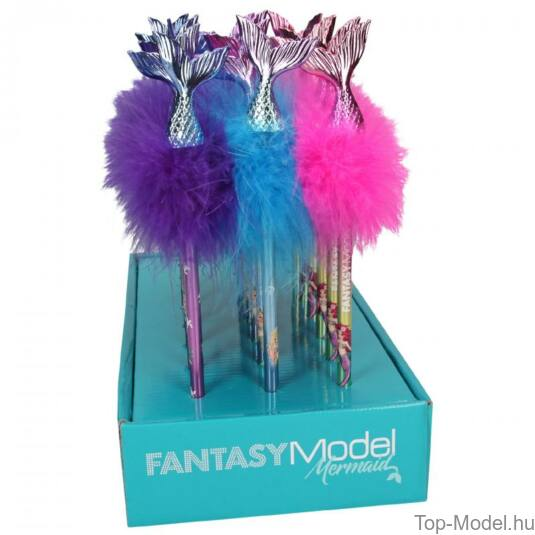 Fantasy Model sellőfarkas grafitceruza, rózsaszín