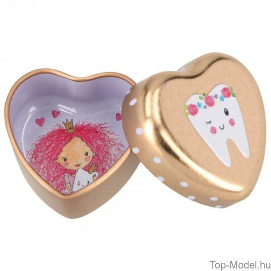 Princess mimi fogtartó dobozka, rózsaszín-lány