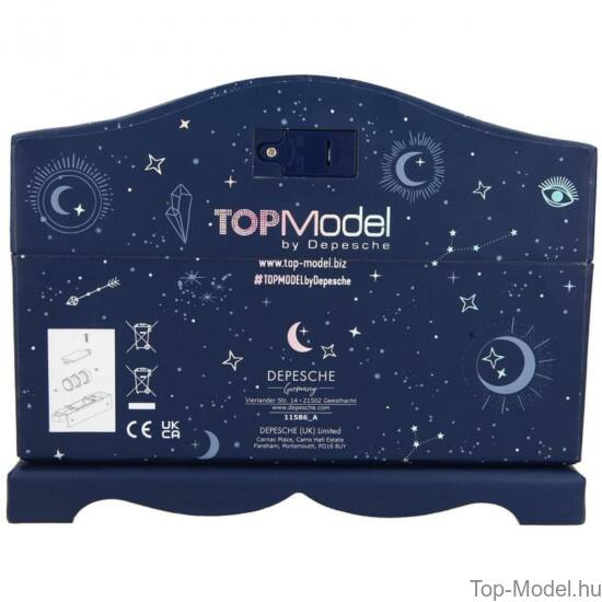 TOPModel Világító Ékszerdoboz MOONLIGHT