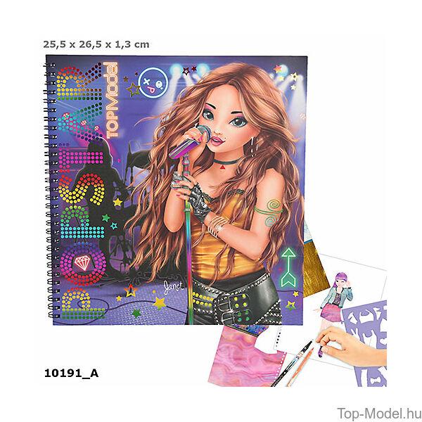d484855de0e TOP Model Popstar ruhatervező könyv