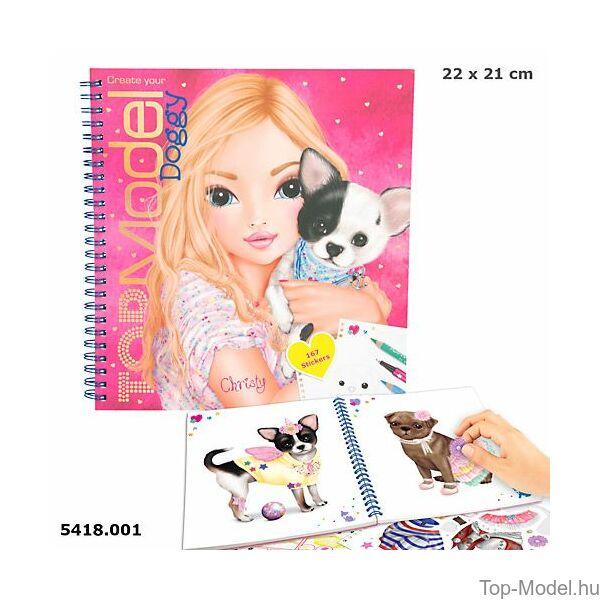TOP Model Doggy ruhatervező könyv