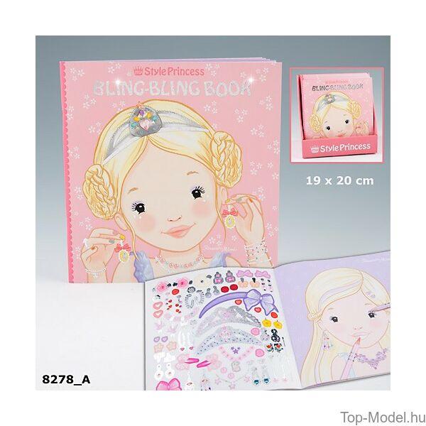 My Style Princess arckifestő matricákkal