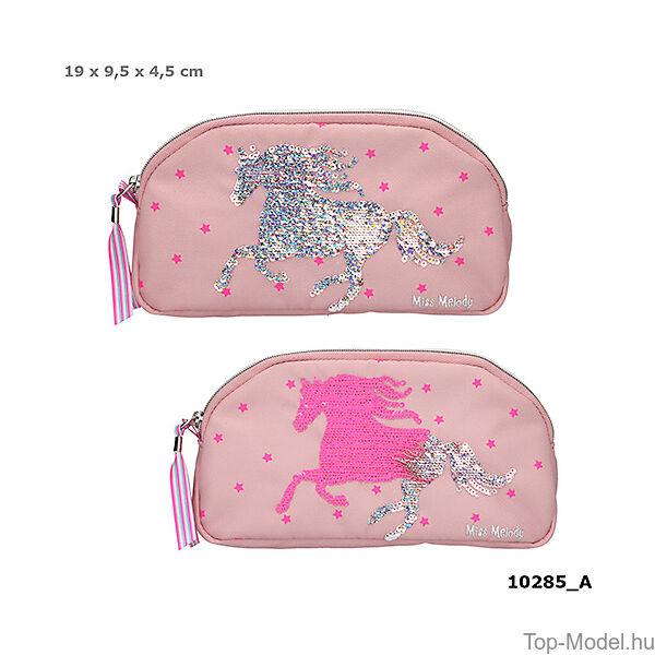 Miss Melody kozmetikai táska Mauve