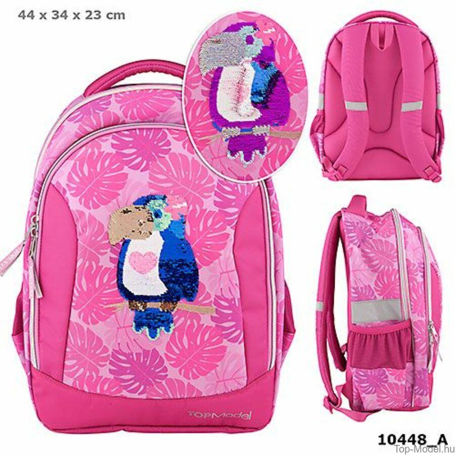TOPModel iskolatáska TROPICAL pink