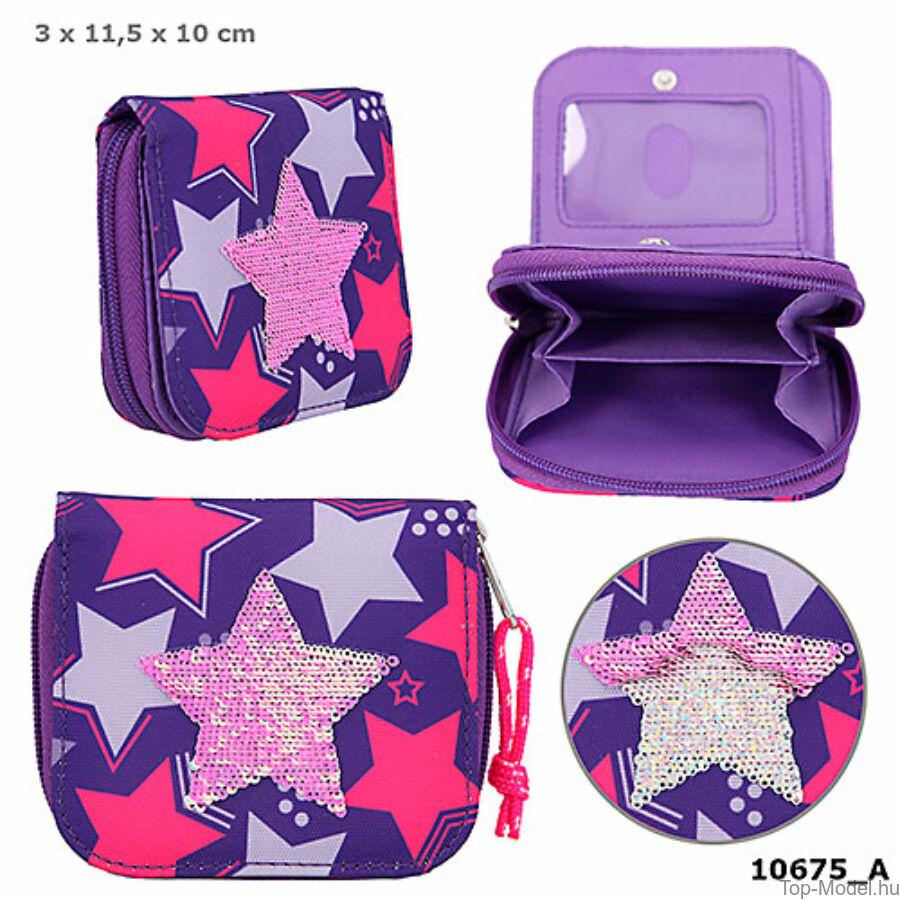 TOPModel pénztárca Sequins Star