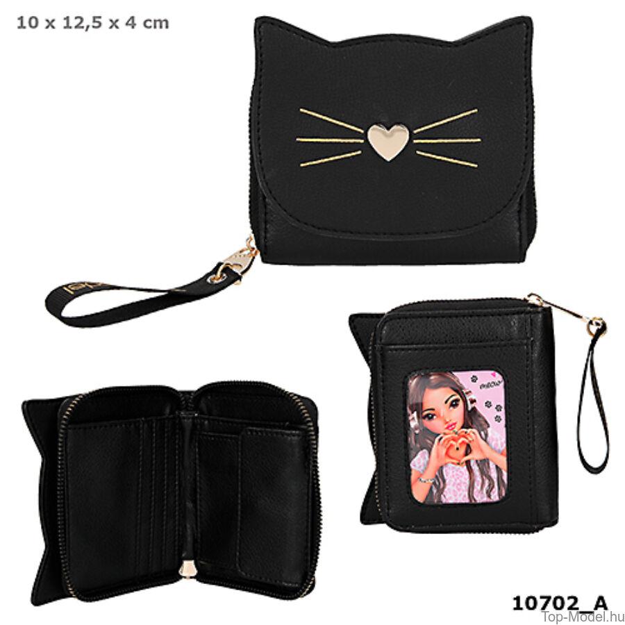 TOPModel pénztárca BLACK CAT