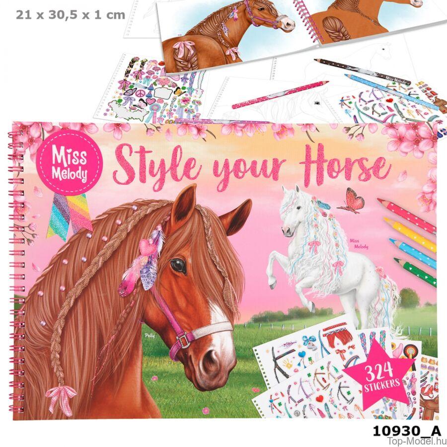 Miss Melody Style your Horse tervező