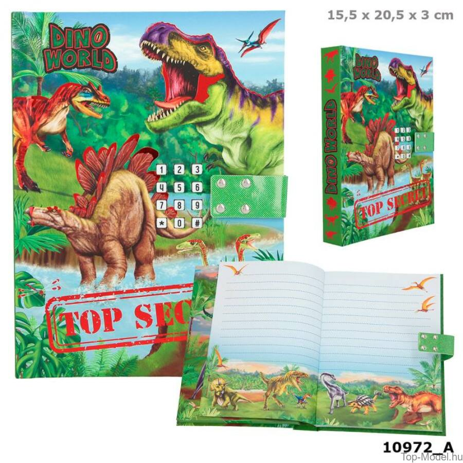 Dino World titkos napló hanggal